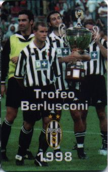 Juventus at Berlusconi Trophy (1998)